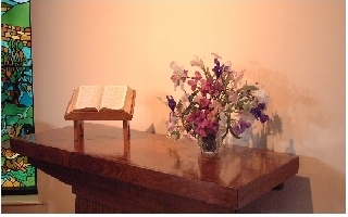 Picture of previous Communion Table